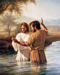 Jesus Being Baptized