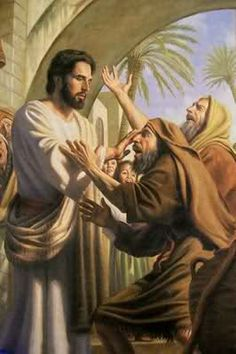 Jesus Heals Two Blind Men